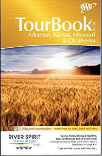 Arkansas, Kansas, Missouri & Oklahoma Tour Book Guide 2018 AAA Look up any town/city to find/compare nearly all hotels, restaurants, attraction ratings, inspector recommendations. 430 page TourBook