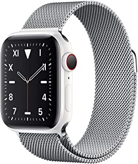 Apple Watch Band 4 and 5, Size 40mm, Silver Color- 20151240