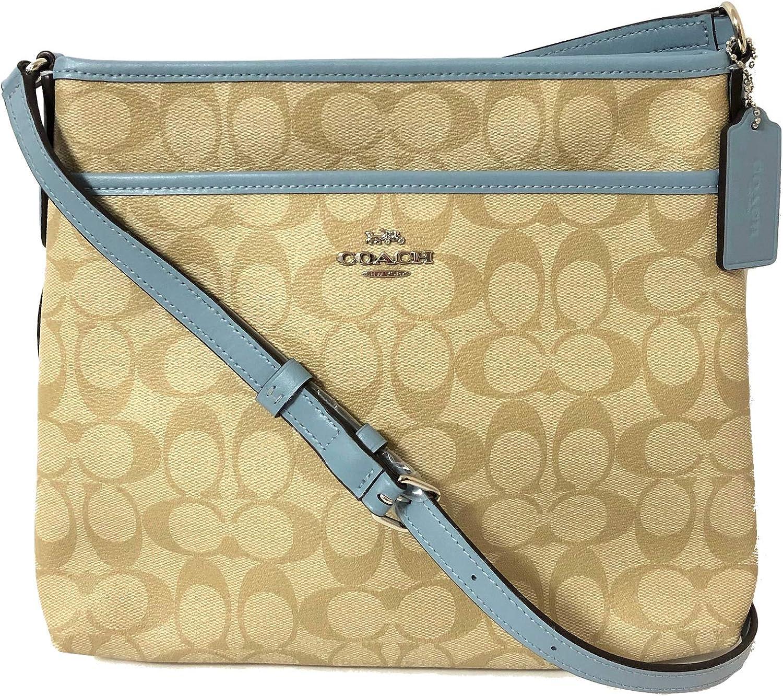 COACH Signature Jacquard Stripe Sale SALE% OFF discount Zip File Bag