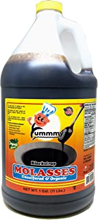 Yummmy Blackstrap Molasses 1 Gal., Organic and Kosher Certified
