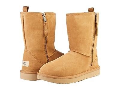 UGG Classic Short Dual Zip Boot (Chestnut) Women
