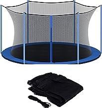 QYK -Ronde trampoline-behuizing,vervangende trampoline-veiligheidsnetbehuizing,trampoline-behuizing zwart,hekvervanging ve...