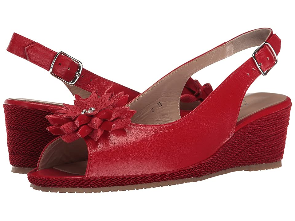 Sesto Meucci Bobby (Red Nappa/Red Cartizze Bow) Women