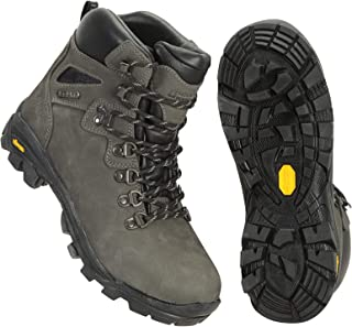 Mountain Warehouse Odyssey Extreme Waterproof Womens Vibram Boots - Durable Ladies Hiking Shoes, Cushioned Footbed Camping...