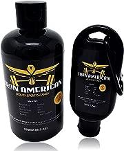 IRON AMERICAN Liquid Sports Chalk (Best Value Liquid Chalk 8.3 oz + 1.7 oz Combo Kit) - Equal to (6) 50 ML Bottles (Combo KIT (8.3 oz. + 1.7 oz.) Bottles) …