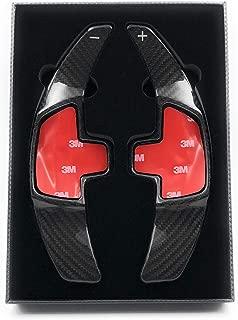HIGH FLYING per CLA 2015-2018//GLA 2017-2018//GLC 2016-2018 In lega di alluminio Comando volante Volante Selettore leva Pomello cambio DSG Shift paddle extension nero