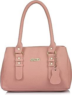 Fostelo Women's Westside Handbag (Light Pink) (FSB-1235)
