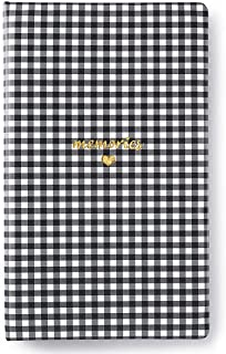"""Webster's Pages, Creative Photo Album, Love Black Floral, PU Leather, 8"""" x 13.5"""" x 2"""", 25 Photo Pages"""