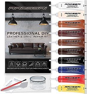 Vinyl and Leather Repair Kit - Restorer of Your Furniture, Car Seats, Sofa, Jacket, Purse, Belt, Shoes   Genuine, Italian,...