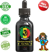 Hemp Oil for Pets (250mg) – All Natural Full Spectrum Hemp Extract Pain for Dogs and Cats, Stress, Joint Pain, Muscle Aches, Post Surgery Natural Relief – Organic Supplement USA Lab Tested Safe