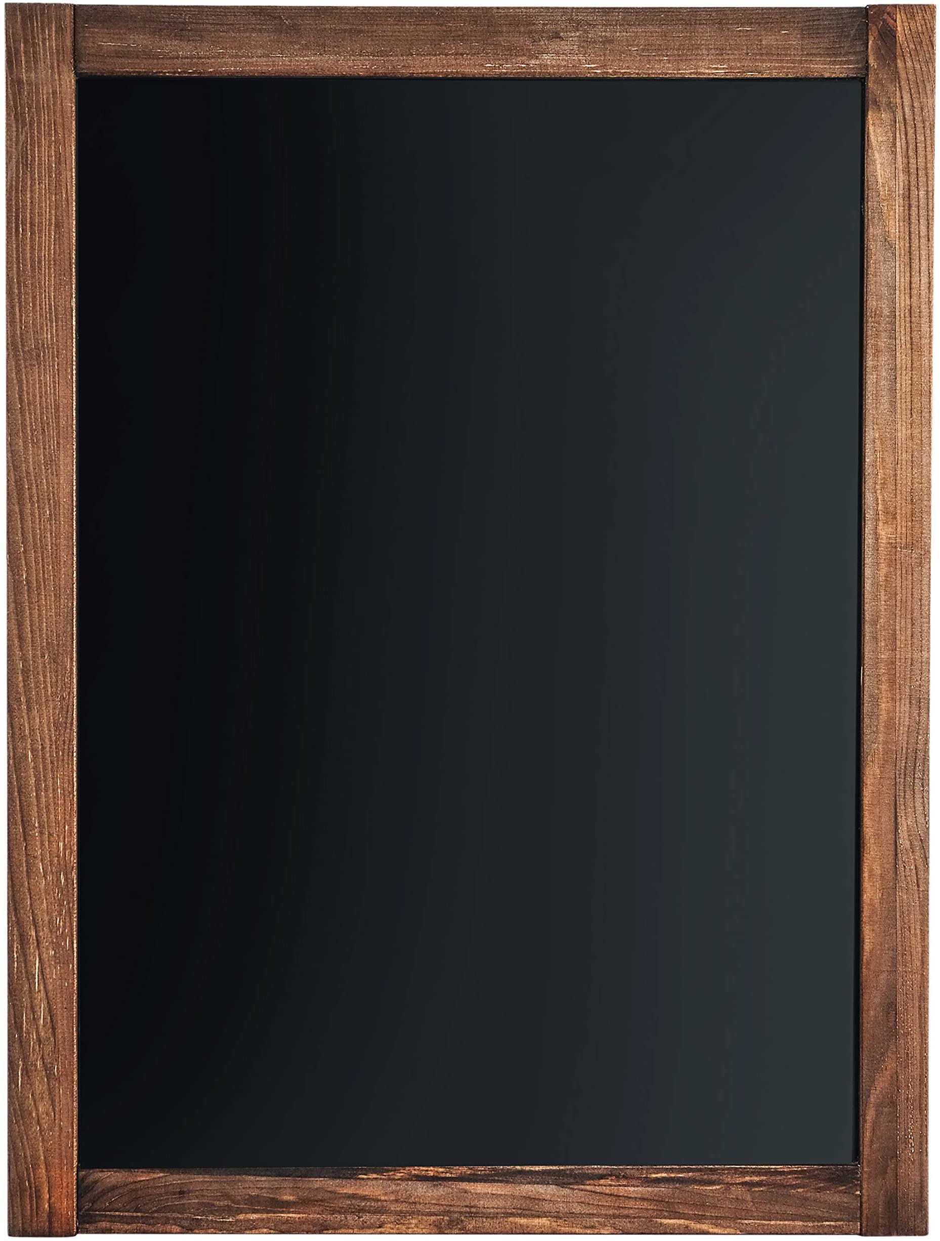 Amazon Com Chalkboard Magnetic Non Porous Framed Vintage Decor Chalk Board For Wedding Kitchen Bar Restaurant Menu Home Sign 18 X 24 Inches Wall Mounted Large Office Products
