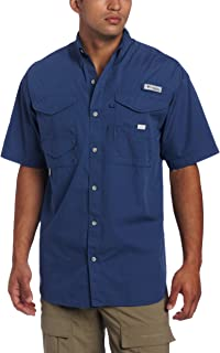 Columbia Men's Bonehead Short-Sleeve Work Shirt,...