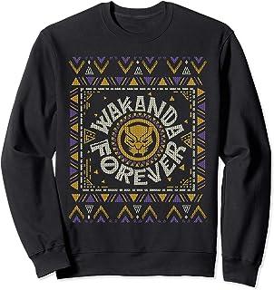 Marvel Black Panther Wakanda Forever Holiday Sweater Sweatshirt