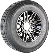 Radial Trailer Tire On Rim Sailun 235/75R17.5 LRH 17.5