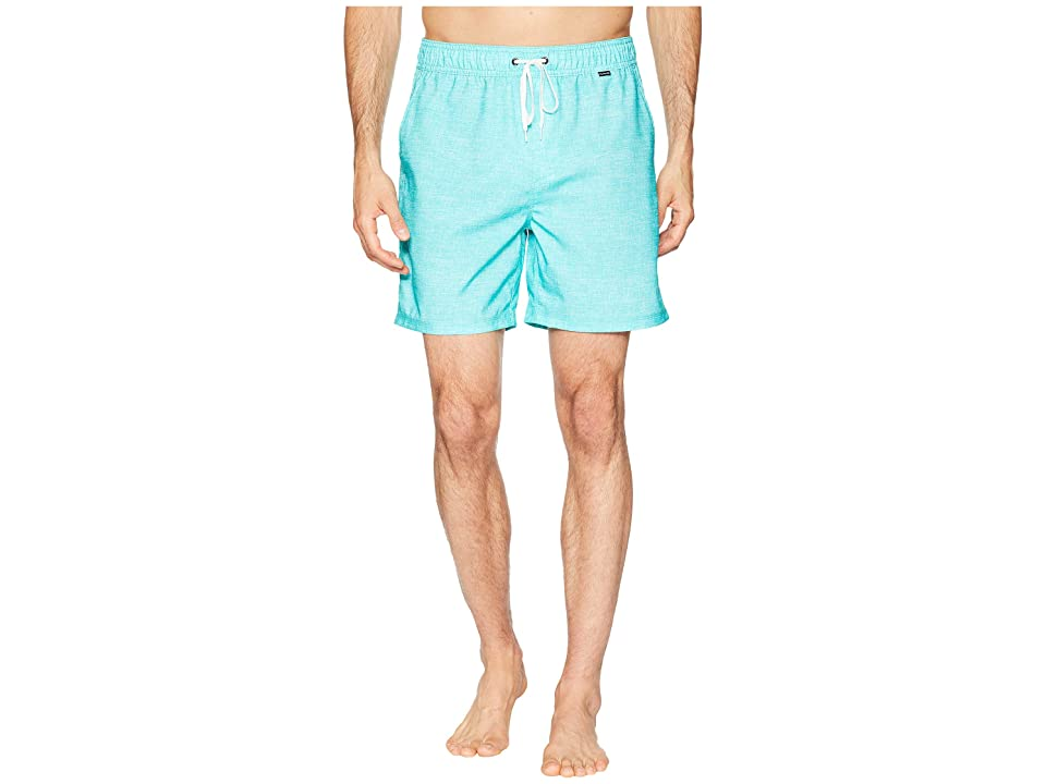Hurley Heather Volley Shorts 17 (Aurora Green) Men
