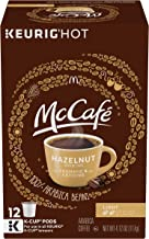 McCafe Hazelnut Keurig K Cup Coffee Pods (72 Count, 6 Boxes of 12)