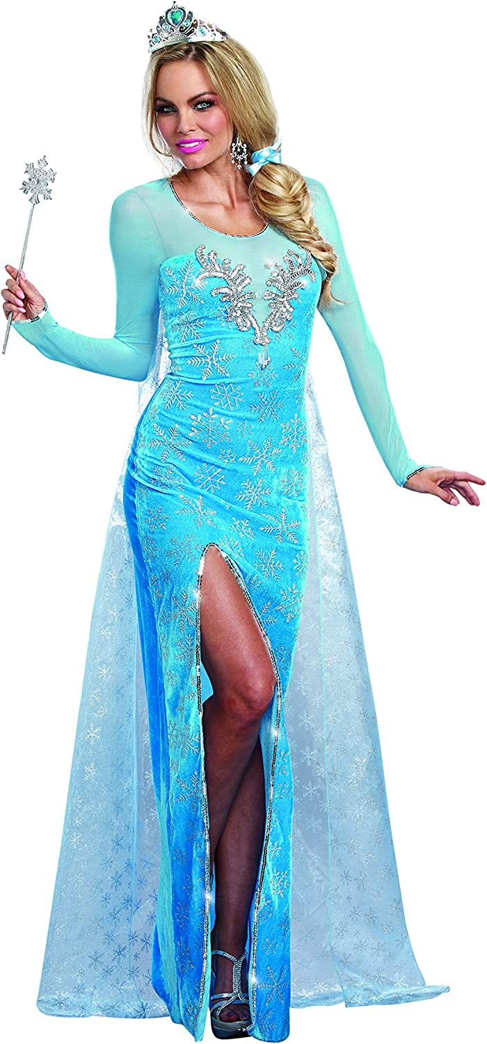 Dreamgirl 9897 Ice Queen Costume (Large)