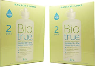 Biotrue Multi-Purpose Contact Lens Solution 4x300ml- 6mths supply by Bausch & Lomb