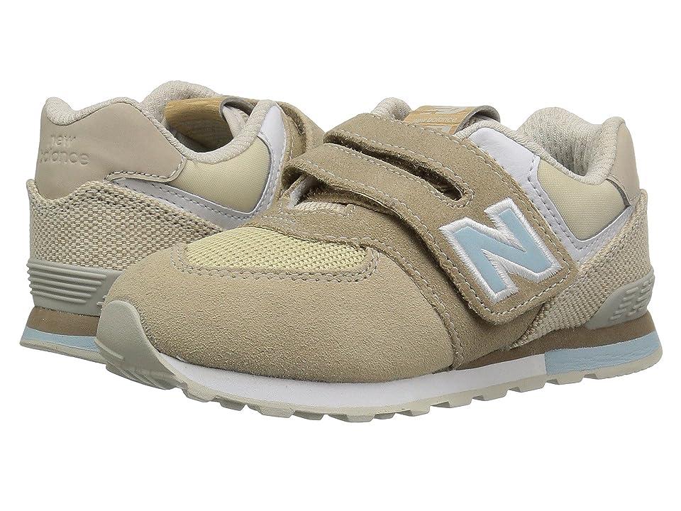 New Balance Kids IV574v1 (Infant/Toddler) (Hemp/Incense) Kids Shoes