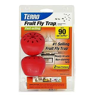 TERRO Fruit Fly Trap - 2 حزمة
