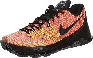 Nike KD 8 Mens Basketball Trainers 749375 Sneakers Shoes (UK 10 US 11 EU 45 Total Orange Black Volt Bright Crimson 807)