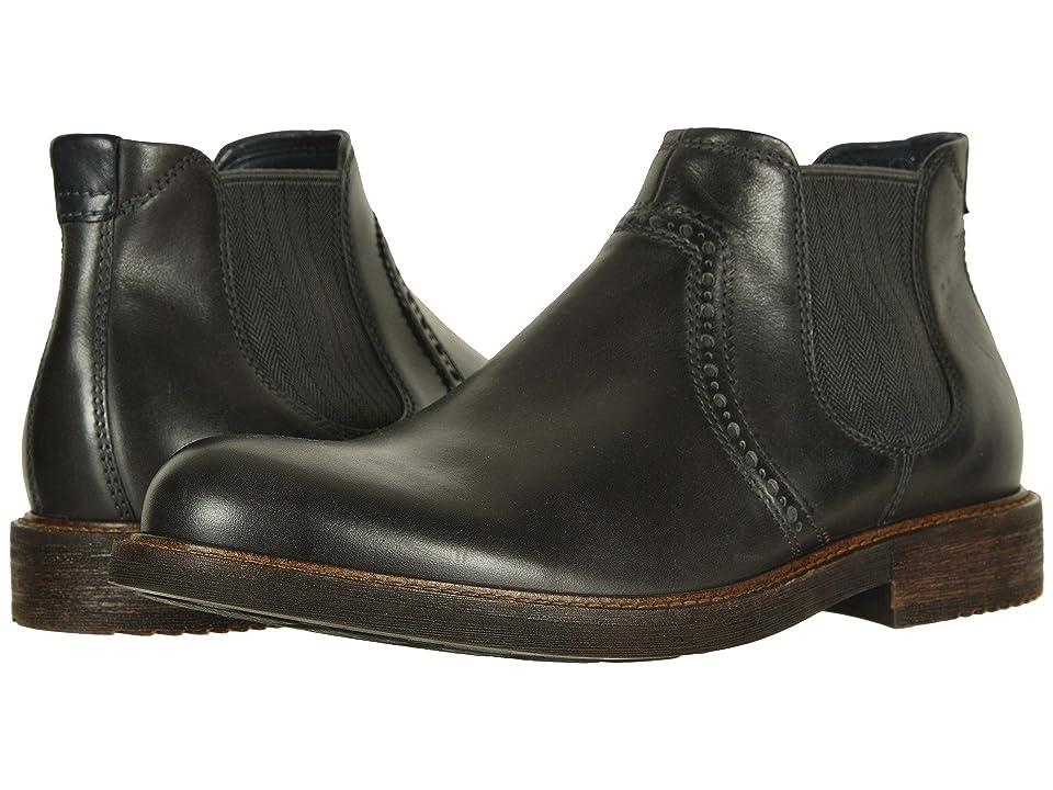ECCO Kenton Ankle Boot (Moonless) Men