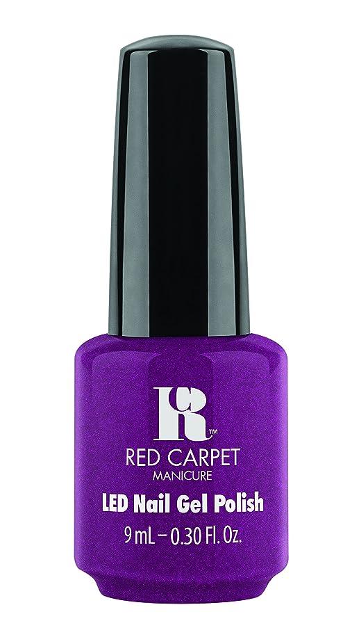 参加する海軍バルブRed Carpet Manicure - LED Nail Gel Polish - 9 Inch Heels - 0.3oz / 9ml