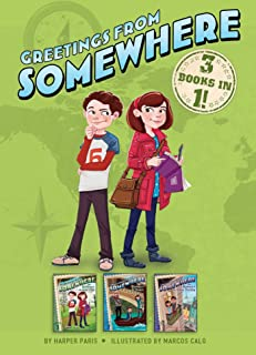 Greetings from Somewhere 3 Books in 1!: The Mystery of the Gold Coin; The Mystery of the Mosaic; The Mystery of the Stolen...