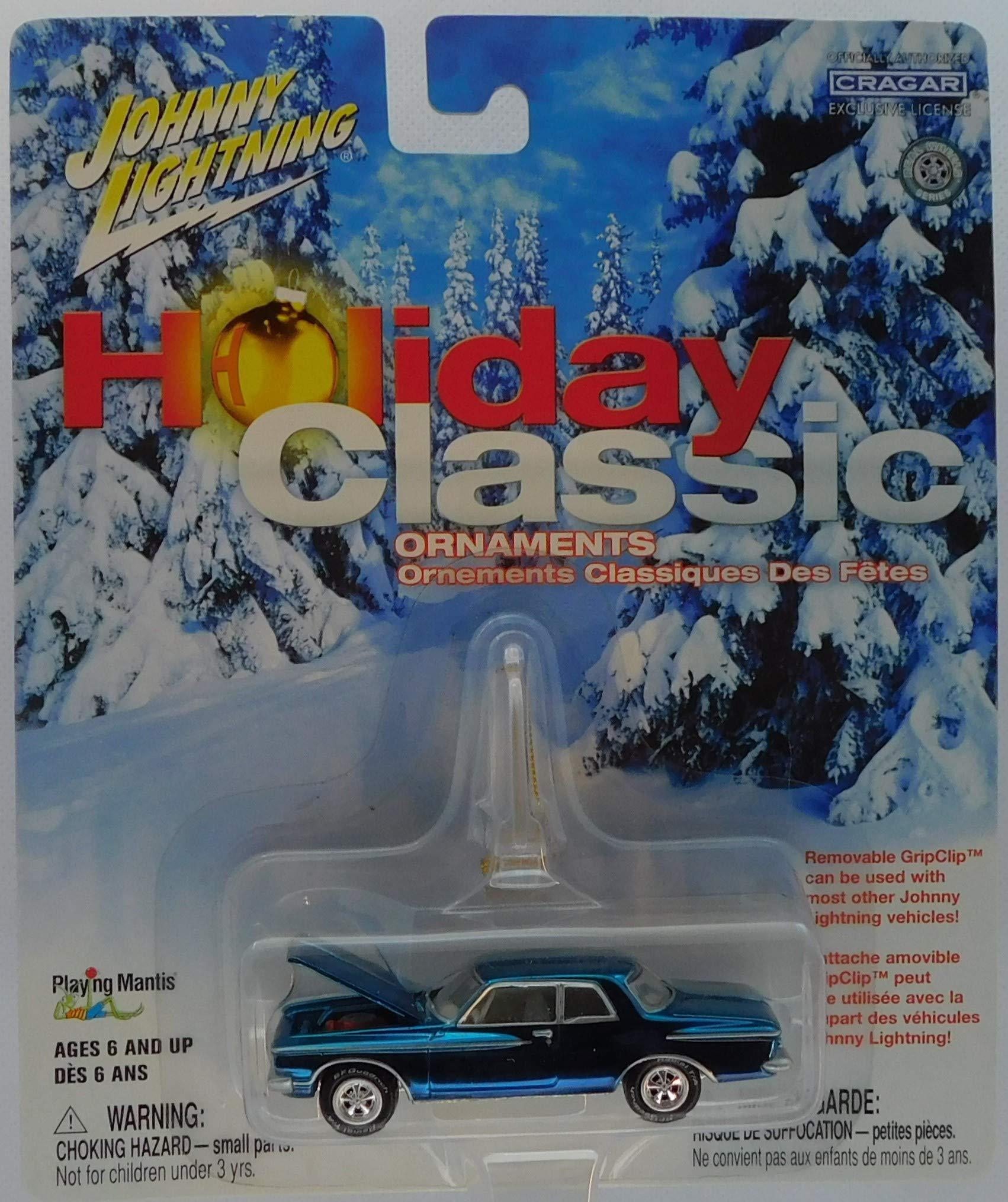 JOHNNY LIGHTNING 1962 PLYMOUTH SPORT FURY HOLIDAY CHRISTMAS TREE ORNAMENT 1//64