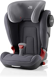 Britax Römer KIDFIX² S Baby Car Seat for Group 2-3 (From 3.5 Years to 12 years)/(From 15-36kg) Car Seat - Storm Grey