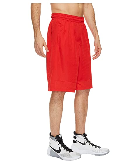 Rojo Basketball University Fastbreak Negro Short Nike AROTqg