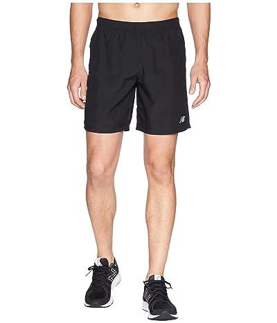 New Balance Accelerate 7 Shorts (Black) Men