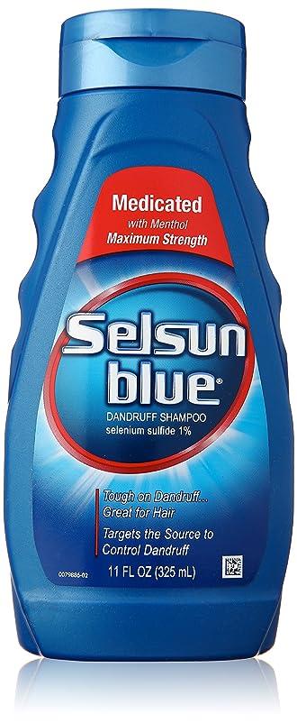 干渉電球ところでSelsun Blue Naturals Dandruff Medicated 325 ml (並行輸入品)