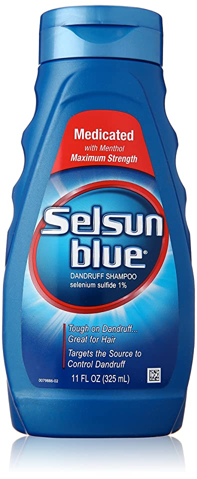 ワゴン警告贅沢なSelsun Blue Naturals Dandruff Medicated 325 ml (並行輸入品)
