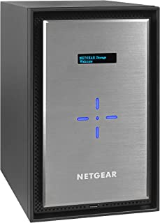 NETGEAR ReadyNAS 628X High Performance 8-Bay 2x10GbE Network Attached Storage Diskless (RN628X00-100NES)