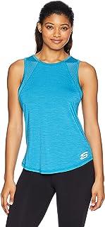 قميص بدون أكمام للنساء بفتحة خلفية من Skechers
