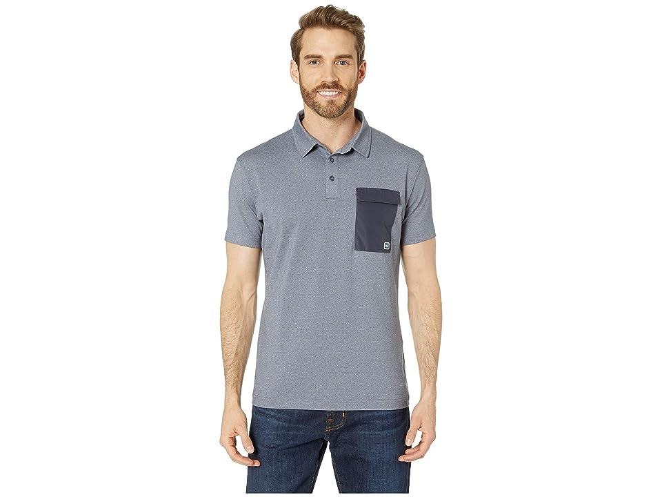 Helly Hansen Oksval Short Sleeve Polo (Graphite Blue) Men