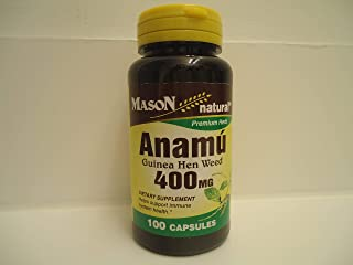Mason Naturals Anamu 400 mg-100 Capsules by Mason Natural