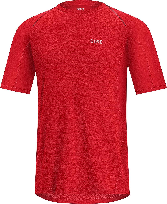 R5 GORE WEAR Mens Short Sleeve Running Shirt