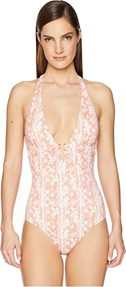 Montserrat U Bar One-Piece