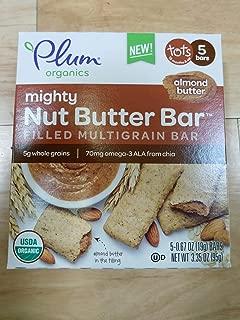 Plum Organics, Bar Almond Butter Filled 5 Count Organic, 3.35 Ounce