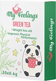 My Feelings - Té verde. Extracto en polvo (20 sticks de 0,6
