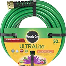 Swan Products MGUL12050 Miracle-Gro ULTRALite Compact Lightweight Garden Hose 50' x 1/2