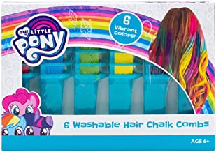 My Little Pony Hair Chalk Combs 6 Pack Toy