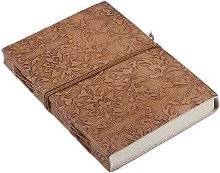 NOVICA Floral Leather Journals 7