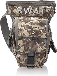 Drop Leg Bag Motorcycle Outdoor Bike Cycling Thigh Pack Waist Belt Tactical Bag Multi-purpose CP