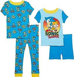 Sonic Four-Piece Cotton Set (Little Kids/Big Kids)