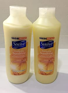 Suave Essentials Everlasting Sunshine , Shampoo and Conditioner Set , 30 fl. oz.