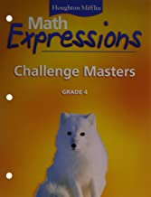 Math Expressions: Challenge Masters Grade 4