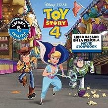 Disney/Pixar Toy Story 4: Movie Storybook / Libro basado en la película (English-Spanish) (16) (Disney Bilingual)